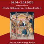 Ogłoszenia parafialne: III Niedziela Wielkanocna, (26.04.2020)